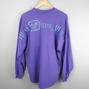 Disney Parks Spirit Jersey Long Sleeve Tee Small